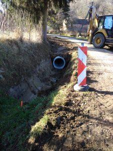 Befejeződött a Belterületi csapadékvíz elvezető